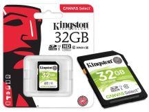 CARTAO DE MEMORIA CLASSE 10 SDS/32GB SDHC 32GB 80R/10W UHS-I U1 CANVAS SELECT