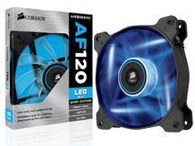 COOLER CORSAIR AF120 120MM QUIET EDITION COM LED AZUL