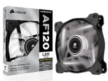 COOLER PARA GABINETE CO-9050015-WLED AF120 120MM QUIET EDITION COM LED BRANCA