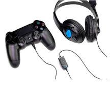 FONE DE OUVIDO USB C/ MICROFONE P/ PC / PS3 / PS4 DEX - DF-400