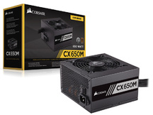FONTE ATX 80PLUS BRONZE CXM 650W ATX PFC ATIVO SEMI-MODULAR
