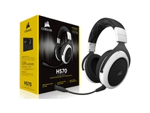 HEADSET GAMER CA-9011177-NA HS70 WIRELESS 7.1 WHITE CORSAIR