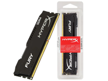 MEMORIA DESKTOP GAMER DDR4 HX424C15FB3/16 FURY 16GB 2400MHZ CL15 DIMM BLACK