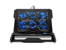 NOTEBOOK COOLER COM 6 FANS LED AZUL AC282