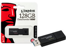 PEN DRIVE USB 3.0 DT100 G3 128GB KINGSTON