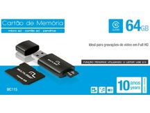 PENDRIVE 3X1 CLASSE 10 64GB MC115