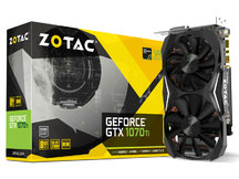 PLACA ZOTAC GEFORCE ZT-P10710G-10P (GPU GTX 1070 TI, 8GB, DDR5)