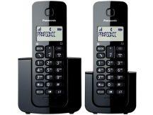 TELEFONE S/ FIO PANASONIC OM BASE+RAMAL COM ID KXTGB112LBB