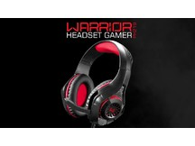 WARRIOR FONE DE OUVIDO HEADSET COM LED PH219