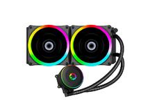 WATERCOOLER GABINETE GAMEMAX ICEBERG 240 RAINBOW LIQUID COOLER 2FANS 120MM